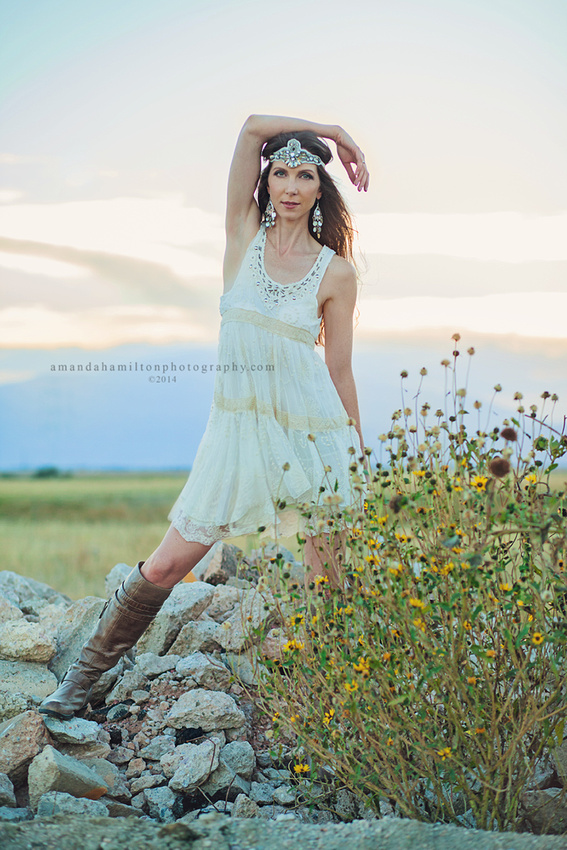 Denver Colorado Springs fashion photographer Amanda Hamilton Photography  bohemian boho