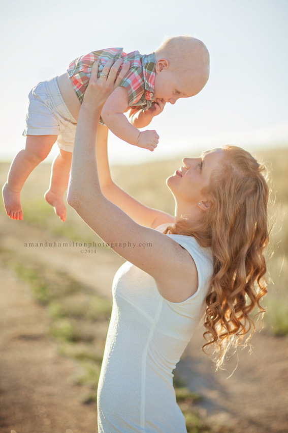 Denver Colorado Springs family photographer Amanda Hamilton Photography