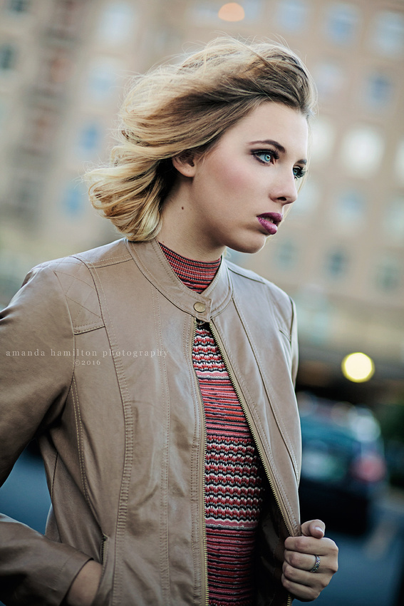 Elena Ehrlin by Fashion Photographer Amanda Hamilton